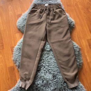 Wilfred Drawstring Pants w/Elastic Cuffs
